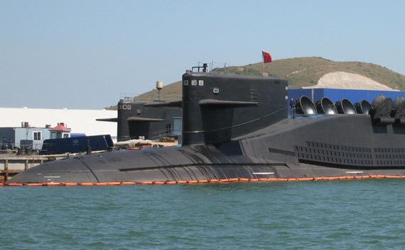 中国海军新型战略核潜艇