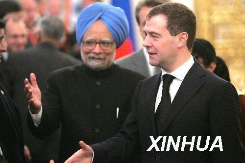 俄罗斯不同意给予印度正式核武国家地位(图)
