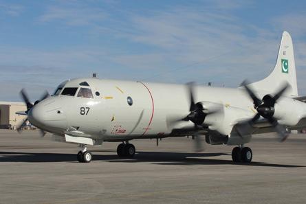 巴基斯坦海军翻新型P-3C海上巡逻侦察机
