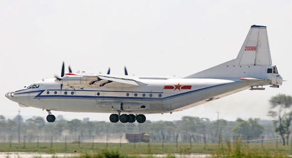 资料图:中国空军列装的运八型运输机