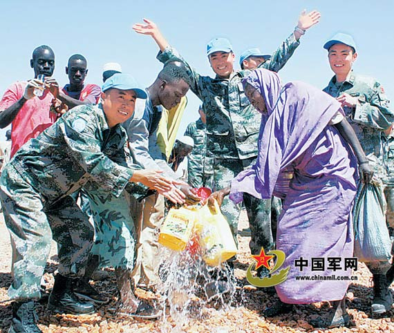 China in Sudan peacekeeping in Darfur and engineering successful multi-port high-quality unit played well for the local people to bring the Gospel 。