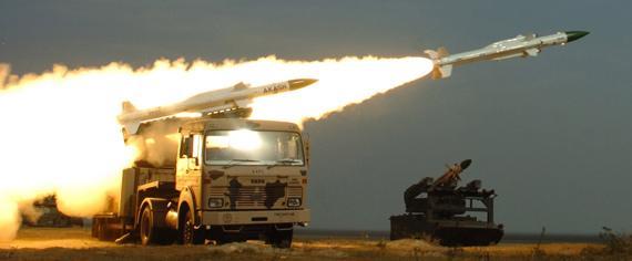 印度计划在中印边境部署国产阿卡什防空导弹旅