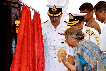 Data for: nuclear submarine was launched last year, when the body count , Mrs. Singh's first cracking a coconut boat to celebrate when the official body count is given only a partial picture submarine