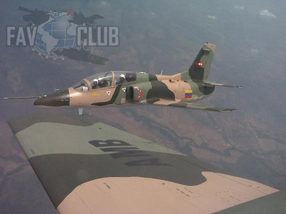 资料图:委内瑞拉空军装备的K-8高级教练机
