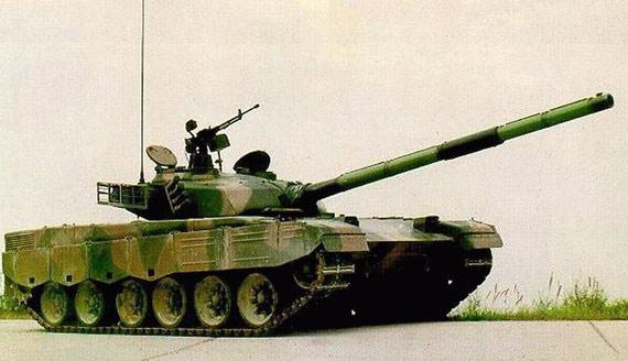 中国产MBT-2000主战坦克