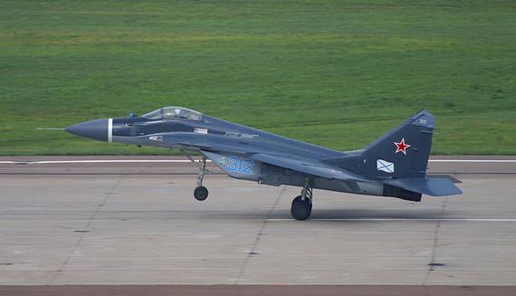 资料图:俄罗斯米格-29战机技术更为成熟。