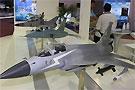 战机模型展台