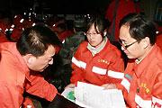 武警医疗队第一夜救治150人