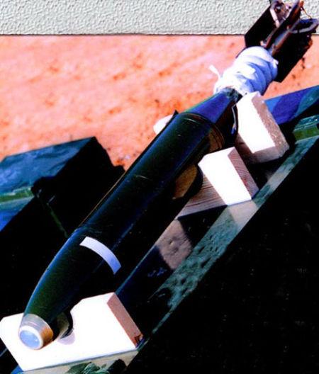 资料图:国产新型炮射末敏弹