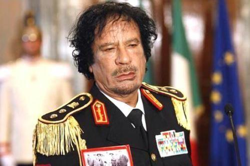 资料图:卡扎菲上校
