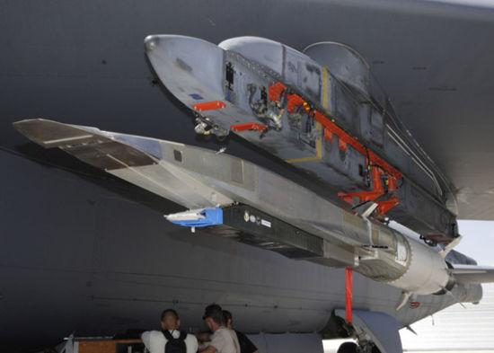 资料图:美国研制的X-51A超高音速巡航导弹