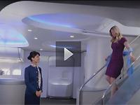 波音747-8飞机豪华客舱