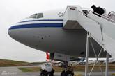 777-300ER客机机身特写