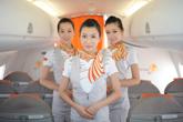 天津航空乘务员
