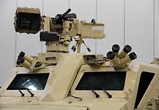 BVS10车前舱车长位置的武器站