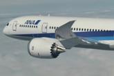 全日空涂装787空中飞翔美丽身姿