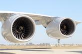 南航首架A380发动机特写