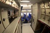南航首架A380经济舱厨房
