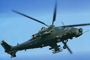 武直-10可能将装备中法联合研制涡轴-16发动机