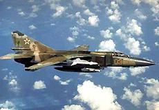 利比亚空军装备米格-23战机