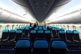 波音787梦想客机经济舱