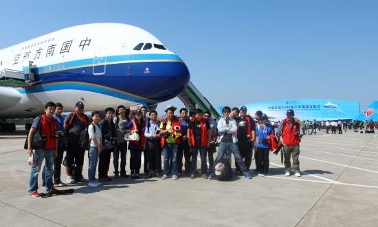 微体验:新浪飞友体验中国首架空客A380首航