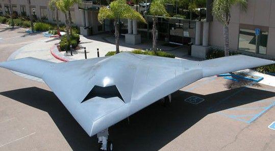 资料图:诺思罗普-格鲁曼公司为美国海军研制的X-47B型无人驾驶飞机
