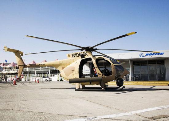 波音公司研制的AH-6i直升机