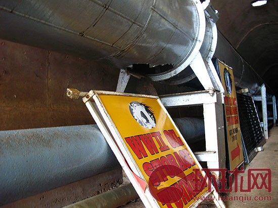 二战时期储油管道遗址 邱维 摄