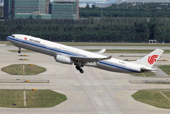 国航运营的从北京到伦敦的直航航班增至每周11班