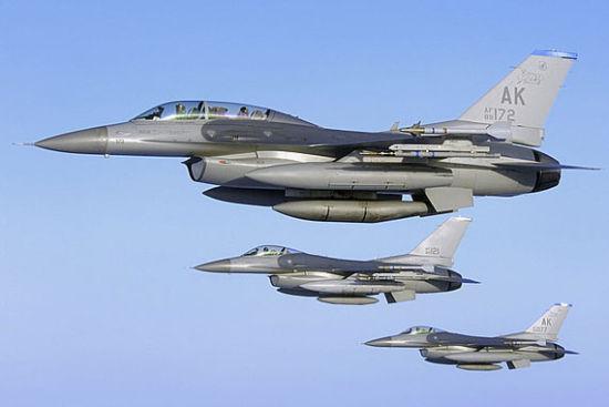 资料图:F-16战斗机