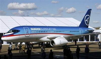俄怀疑其首款客机苏霍伊-100失事系美搞破坏