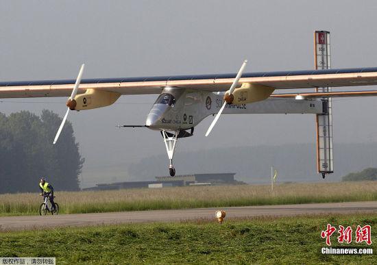 瑞士太阳能飞机
