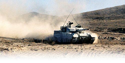 资料图:中国产新型外贸主战坦克。