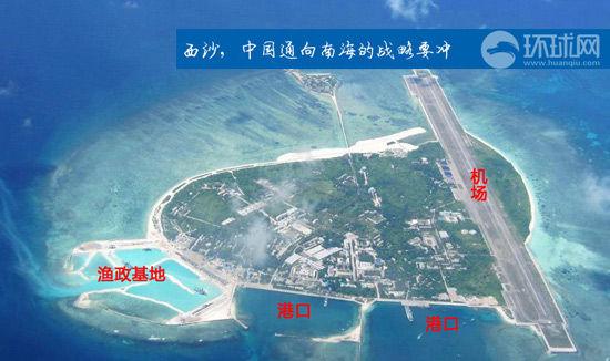 我国在永兴岛上的渔政基地已经建有机场、港口等基础设施