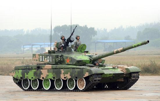 资料图:国产99式主战坦克