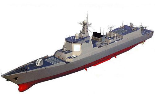 资料图:052D型驱逐舰想象图