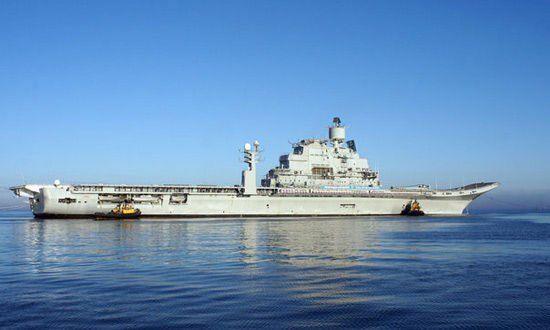 印度二手航母维克拉马蒂亚号