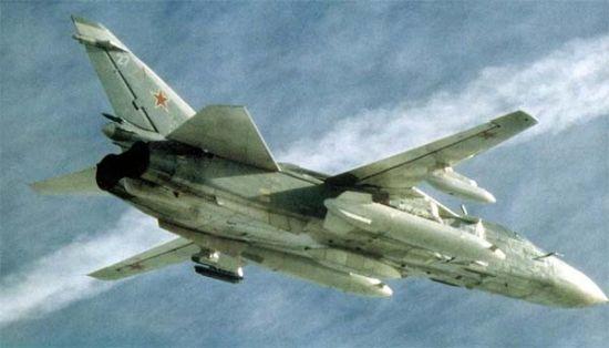 苏-24前线轰炸机