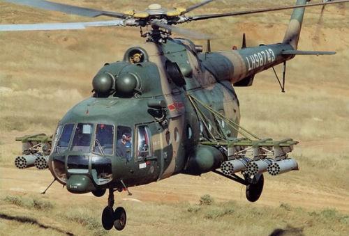 资料图:解放军装备的米-171型直升机