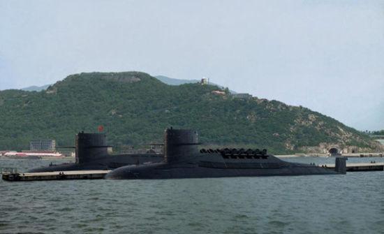 资料图:094级战略导弹核潜艇