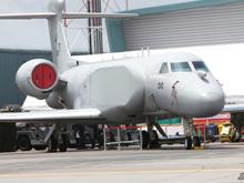 新加坡空军湾流预警机静态展示