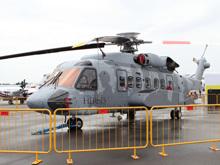 西科斯基S-92直升机全身遍布签名亮相