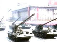人民军大口径火炮