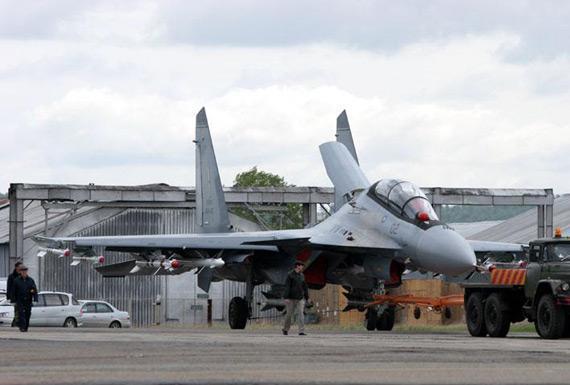 马来西亚空军苏-30MKM战斗机