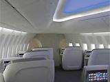 内部架构营造了更宽敞的客舱环境