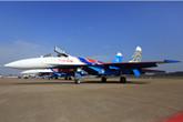 俄空军勇士飞行表演队飞抵珠海