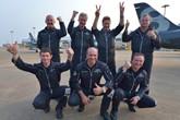 百年灵喷气机队成功抵达珠海