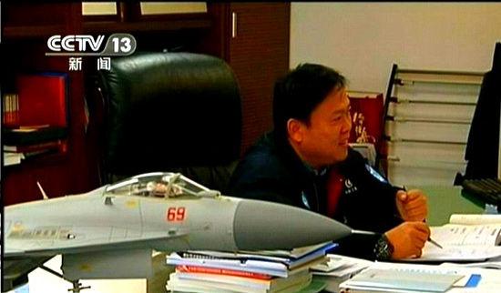 歼-15战斗机总设计师孙聪