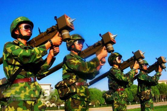 资料图:中国FN-6单兵防空导弹系统